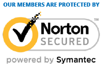 Our members are protected by Norton Secured powered by Symantec