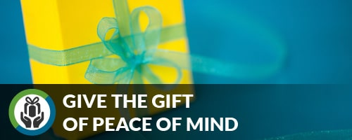 Give the gift of peace of mind