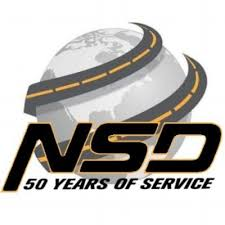 "Nation Safe Drivers logo ""50 Years of Service"""